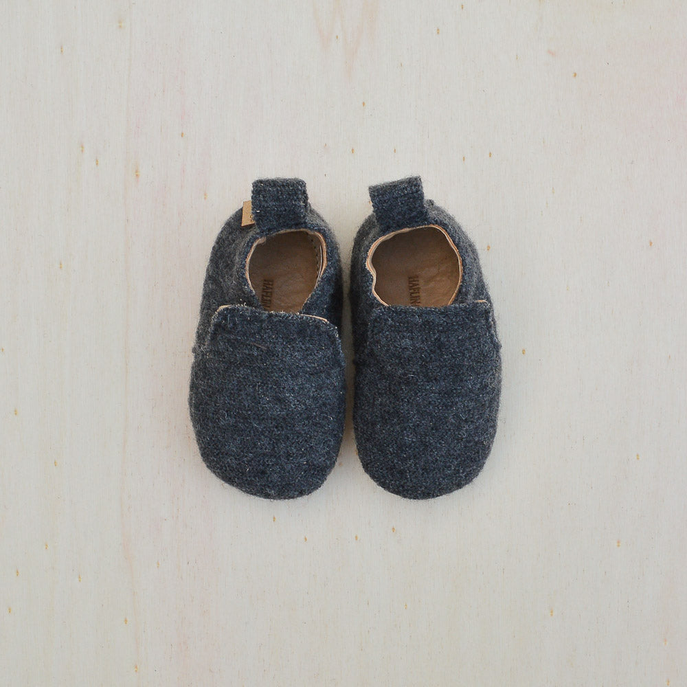 Boiled Wool Indoor Shoes (0-3yrs)