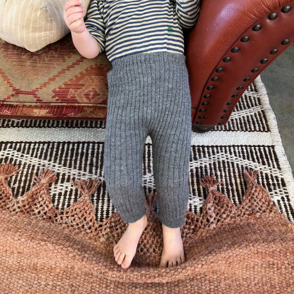 Alpaca Rib Knit Pants (18m-3y)