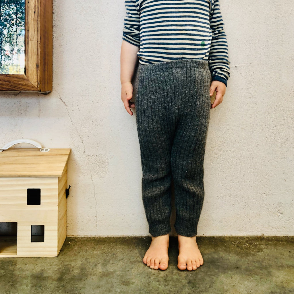 Alpaca Rib Knit Leggings (12m-3y)
