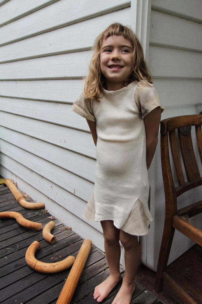 Organic Cotton Knit Dresses (1-3yrs)