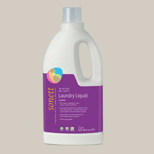 Eco Laundry Liquid for Cotton/Linen/Hemp (2 Litre)