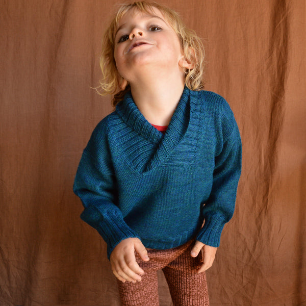 Charlie Sweater in Baby Alpaca (1-6y)