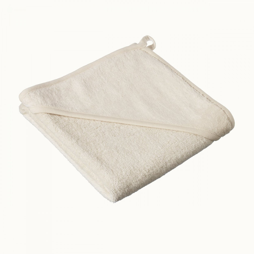 Organic Cotton Hooded Towel - Natural