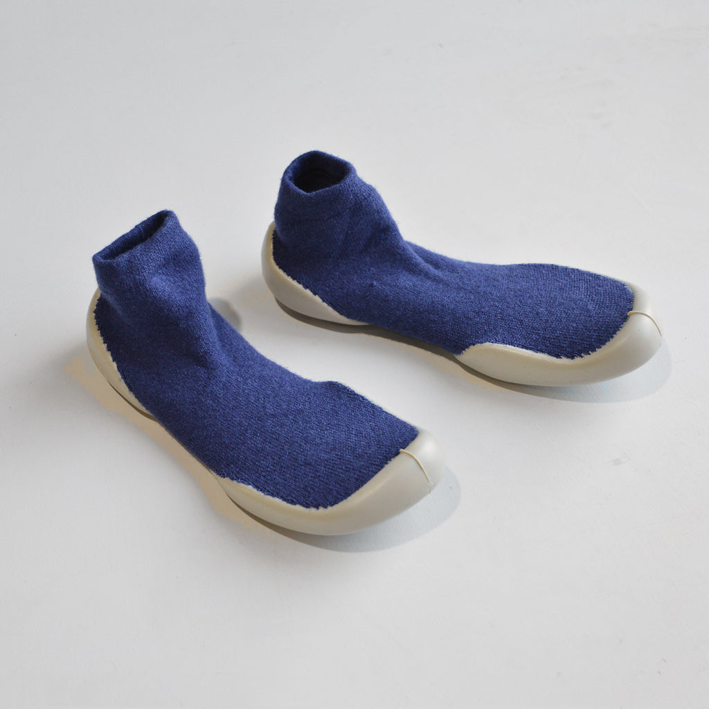 Wool & Cashmere Slipper Socks (Size 22-35)