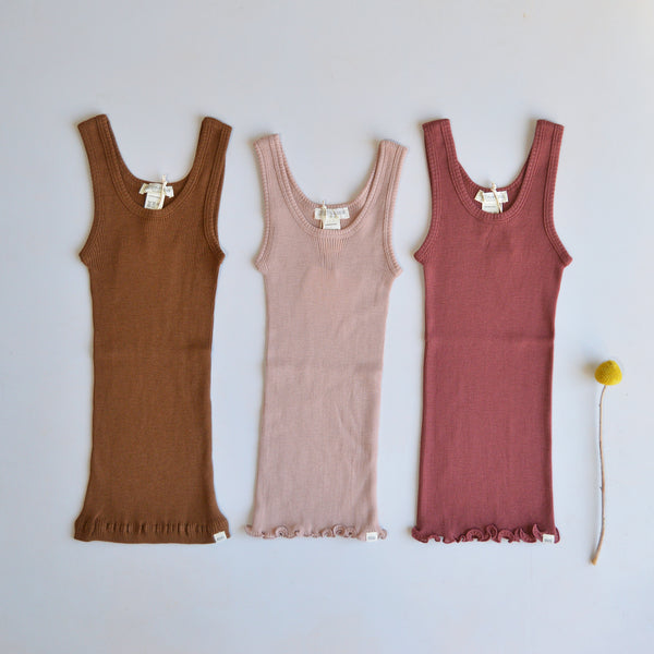 Child Sleeveless Merino Tank (2-14y)