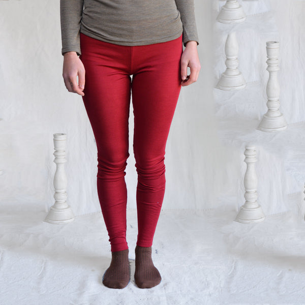 Women's Merino Wool/Silk Leggings