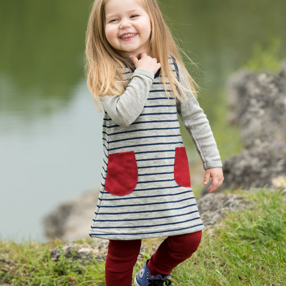 Terry Merino Dress (6m-5yrs) *Last Ones