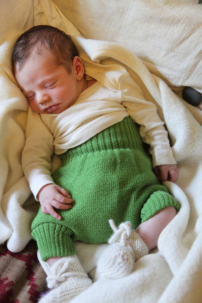 Baby Blanket in Organic Merino Wool Fleece