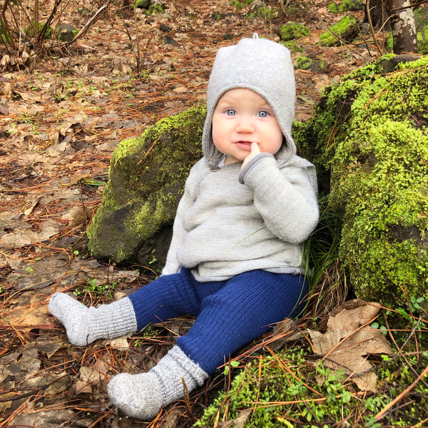 AW19 Merino Baby Jacket (0-3+yrs)