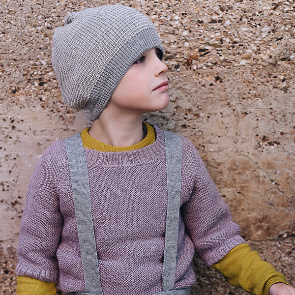 Lise Sweater in Baby Alpaca (2-6y)
