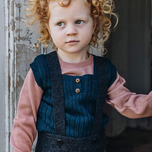 Rico Vest in Baby Alpaca (0-6y) - Colours