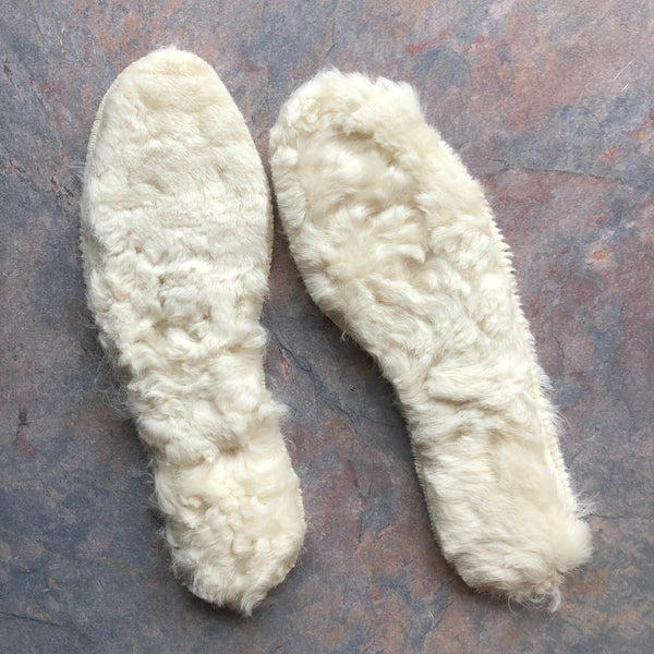 Lambskin Fleece Insoles - Organically Tanned (24-33)