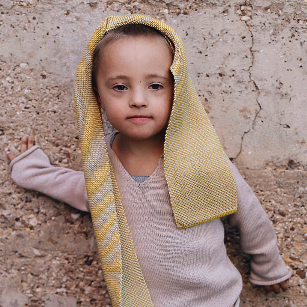 Knitted Merino Kids Scarf