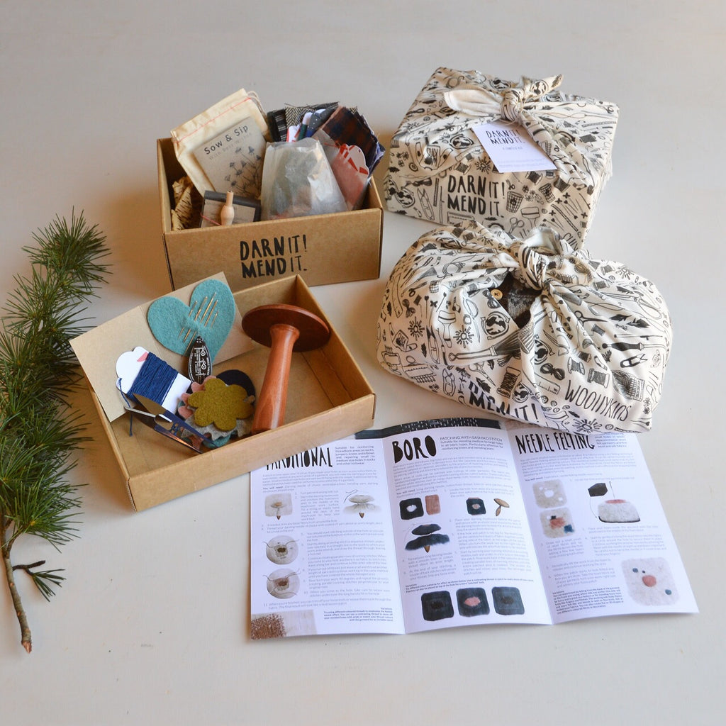 *SPECIAL EDITION* Darn it! Mend it. complete mending kit