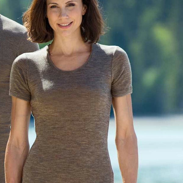 Women's Merino Wool & Silk T-Shirt (1 left)