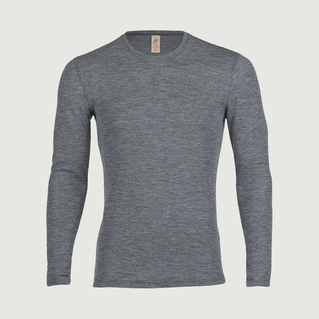 Men's 100% Organic Merino Wool Longsleeved Top