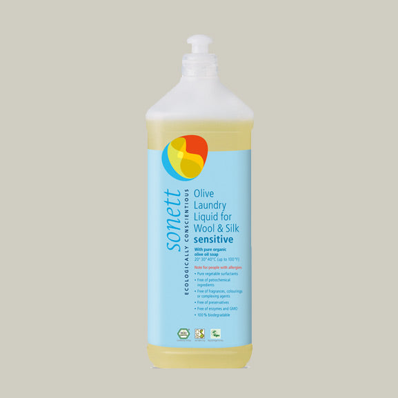 Olive Laundry Liquid for Wool and Silk (1 Litre)