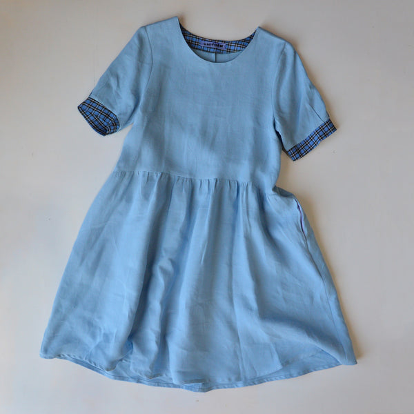 Kirsten Dress in 100% Hemp (Women's) - M-L only
