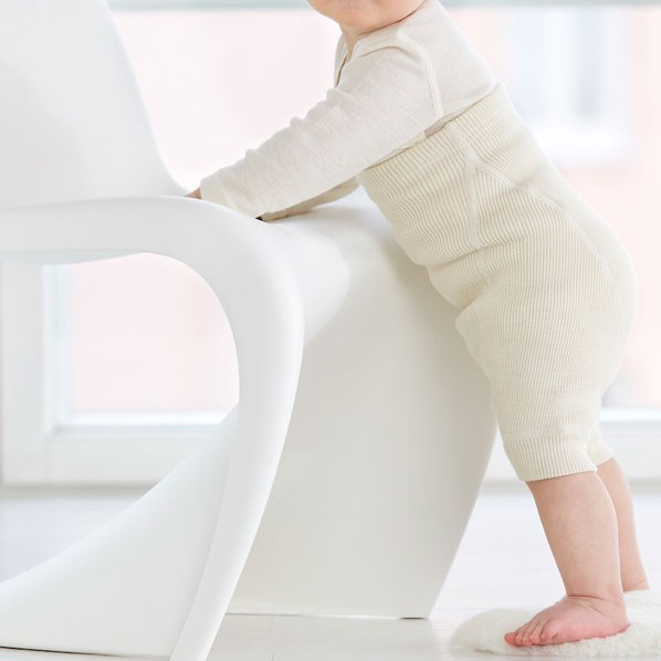 Organic Wool Nappy Pants - Short Leg