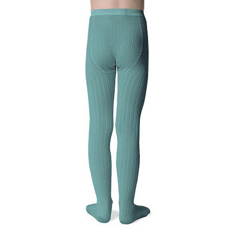 Ribbed Tights in Long Fibre Egyptian Cotton (1-14yrs)