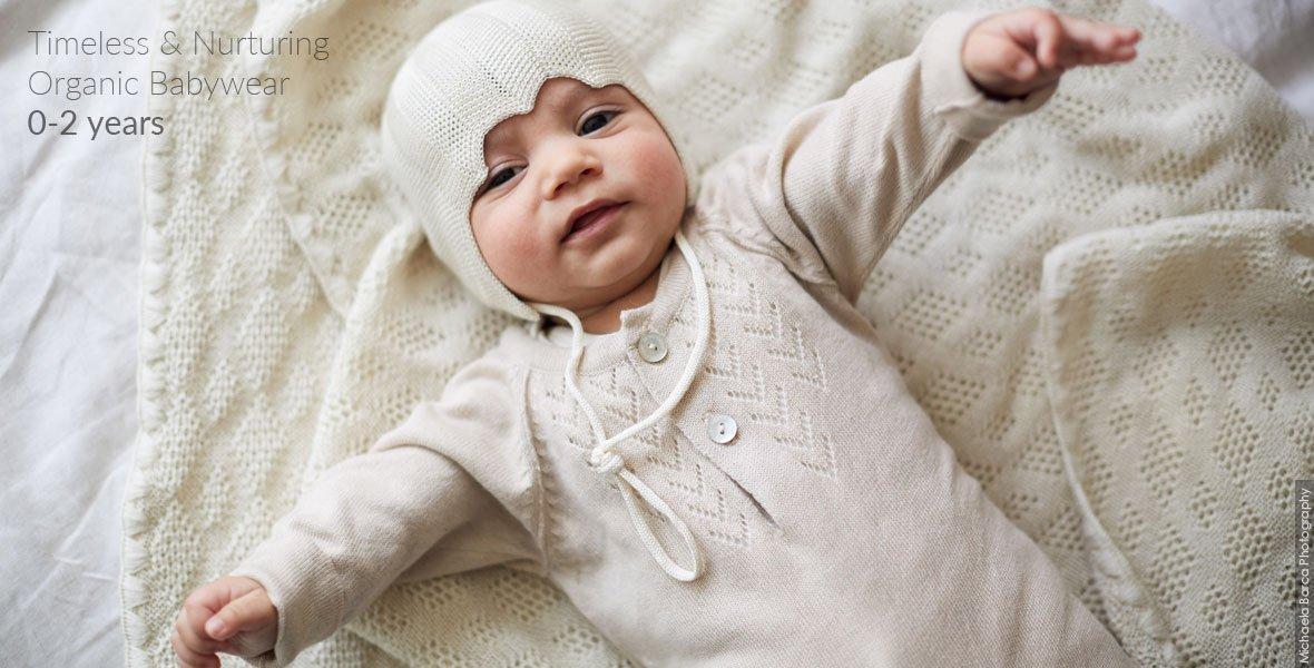 Ethical wool clothing for children aged 0-10 years