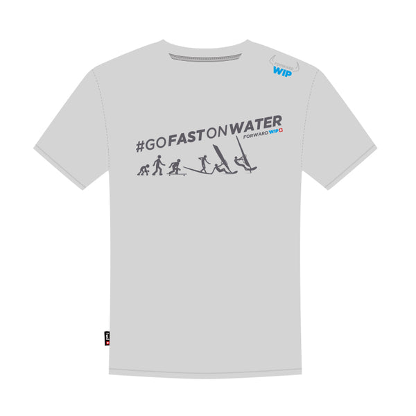 Forward Sailing #Gofastonwater Tee