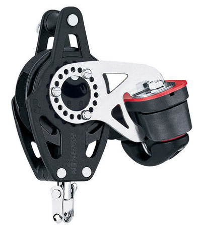 Harken 57mm Carbo Ratchet Block swivel becket & cam