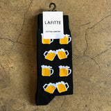 Beer Socks - Black