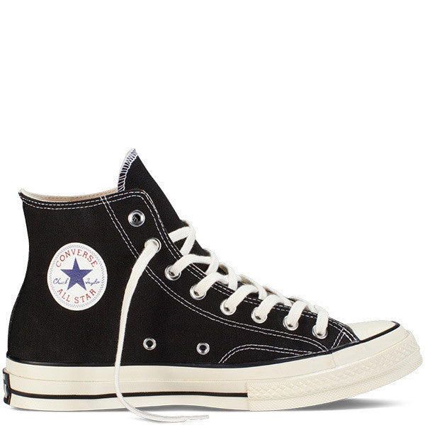 Chuck Taylor All Star '70 - Black Canvas Hi