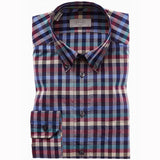 Multi- Check Poplin Shirt