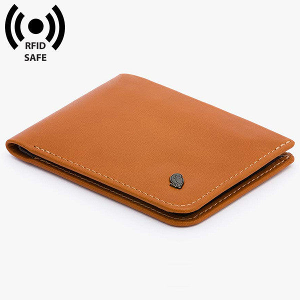 Hide & Seek Wallet with RFID Protection - Caramel