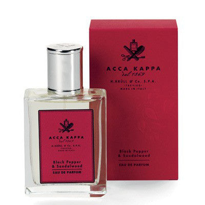 Acca Kappa Black Pepper & Sandalwood Eua de Parfum100ml