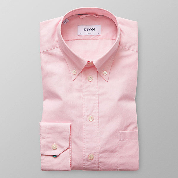Oxford Button Down - Pink