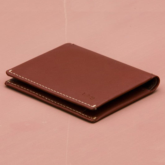 Slim Sleeve Wallet - Cognac
