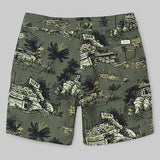 Float Swim Trunk - Homerun Print Bog