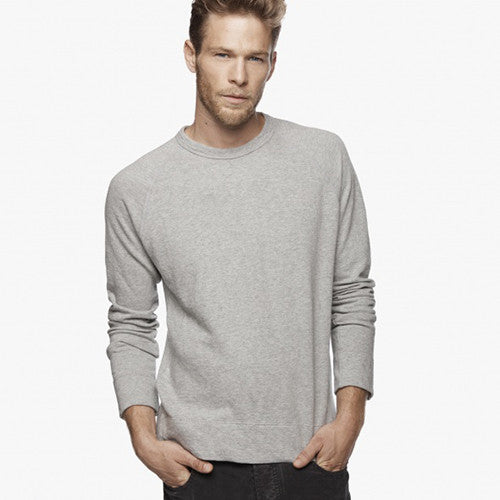 Vintage Fleece Sweatshirt - Heather Grey