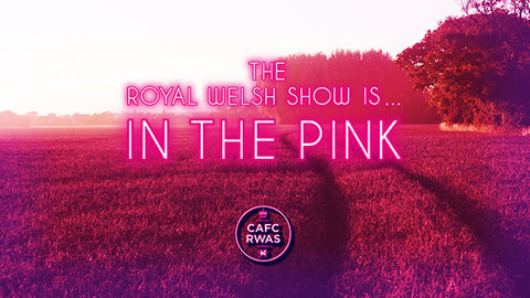 In The Pink! Royal Welsh Official Merchandise 2017