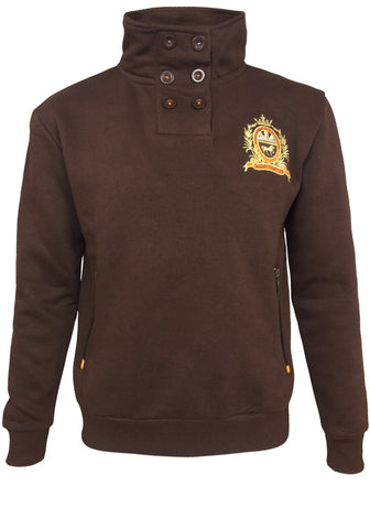 Riding Club Kid's Button Sweatshirt
