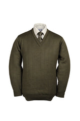Heavyweight V Neck Shooting Jumper without patches