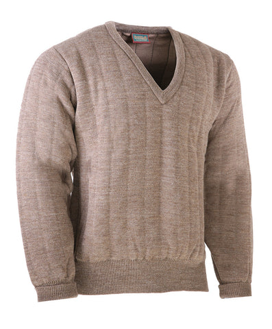 Heavyweight V Neck Country Jumper without Patches