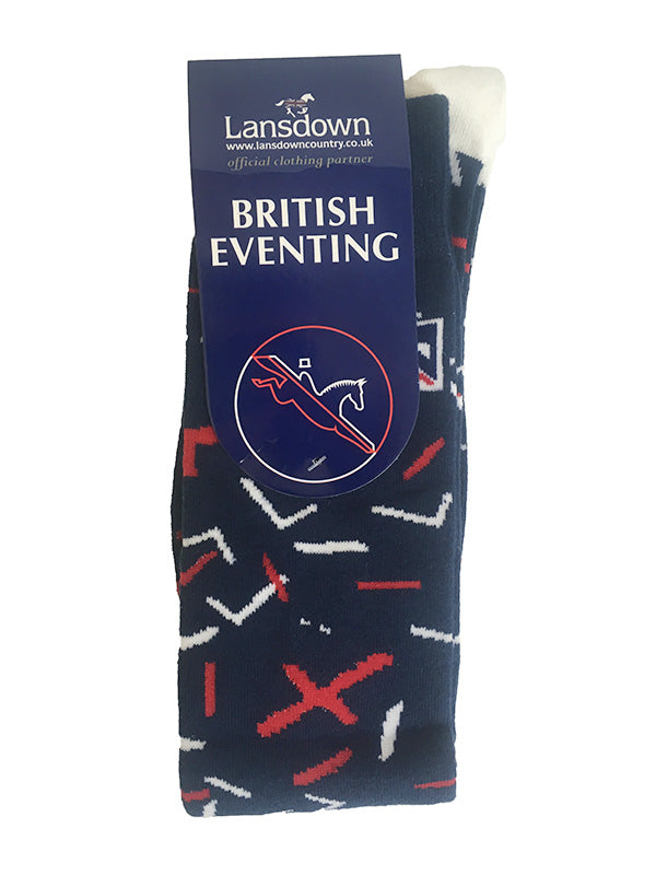 British Eventing Deconstructed Knee Socks