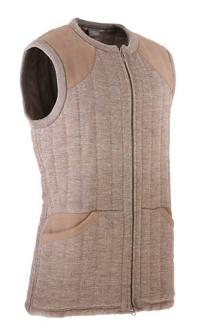 Heavyweight Country Waistcoat in Brown Mix