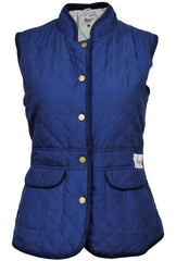 Lansdown Ladies County Quilted Gilet - Navy