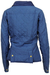 Lansdown Ladies County Quilted Jacket - Navy