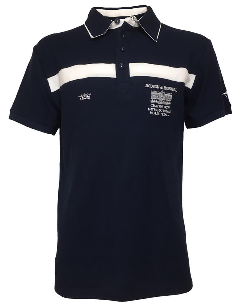 Chatsworth House Kid's 'Bronte' Polo Shirt