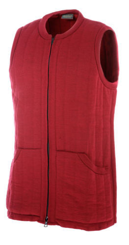 Heavyweight Country Waistcoat in Claret
