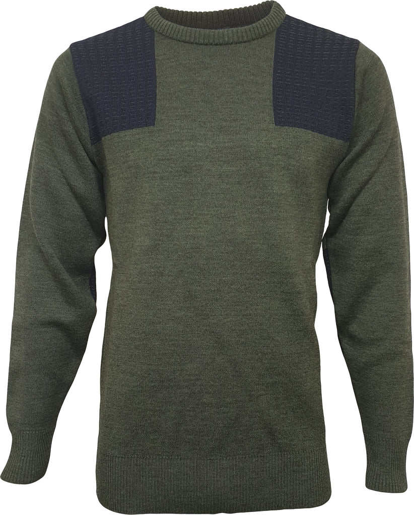 Climayarn Crew Neck Shooting Jumper & Nomex Patches
