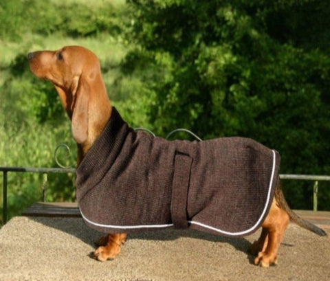 Therma-Dry Dachshund Dog Coat - Made to Order