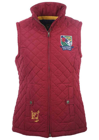 Earlswood Gilet in Rio Red