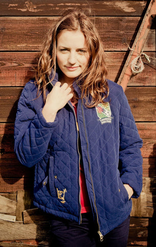 Earlswood Jacket in Medieval Blue